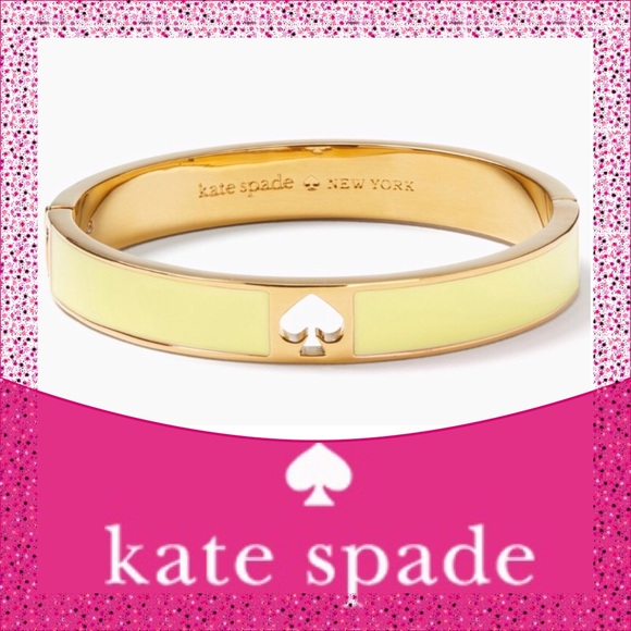Take 40% Off Kate Spade ♠️Yellow Spade Bracelet